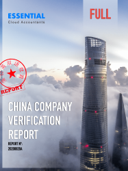 China Company Verification Report Full
